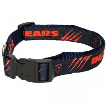 Chicago Bears NFL Woven Dog Collar
