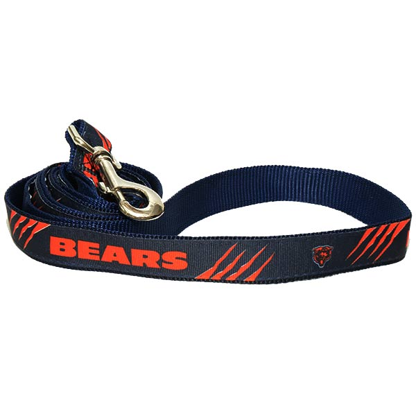 Chicago Bears NFL Woven Dog Leash