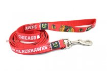 Chicago Blackhawks NHL Woven Dog Leash