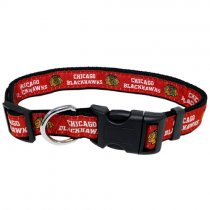 Chicago Blackhawks Woven Dog Collar