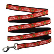 Chicago Blackhawks Woven Dog Leash