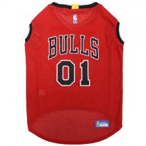 Chicago Bulls NBA Dog Home Jersey