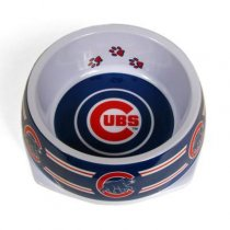 Chicago Cubs Designer Dog Bowl