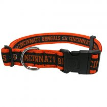 Cincinnati Bengals Woven Dog Collar