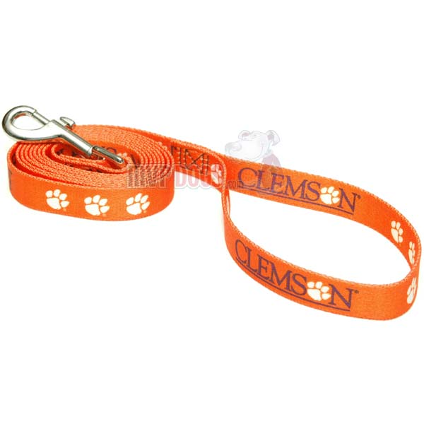 Clemson Tigers NCAA Dog Leash