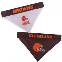 Cleveland Browns NFL Reversible Dog Bandana