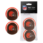 Cleveland Browns Tennis Balls