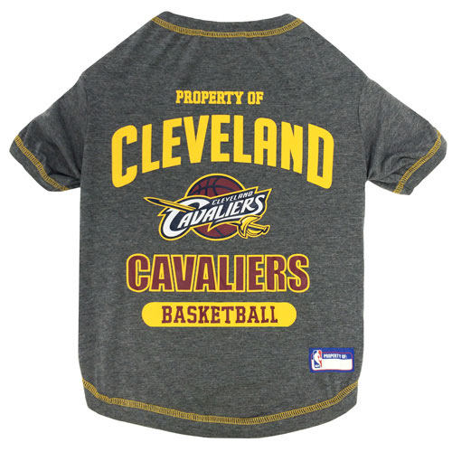 Cleveland Cavaliers NBA Dog Tee Shirt