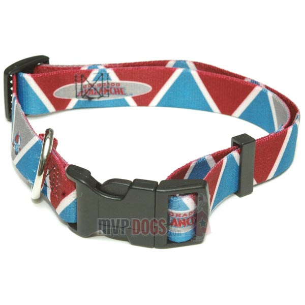 Colorado Avalanche NHL Dog Collar