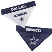 Dallas Cowboys NFL Reversible Dog Bandana