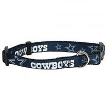Dallas Cowboys NFL Woven Dog Collar