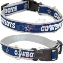 Dallas Cowboys Woven Ribbon Collar