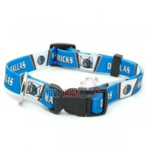 Dallas Mavericks NBA Dog Collar
