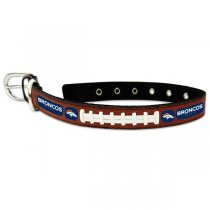 Denver Broncos Classic Leather Collar