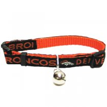 Denver Broncos NFL Cat Collar