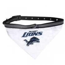 Detroit Lions NFL Dog Collar Bandana