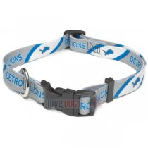 Detroit Lions NFL Dog Collar