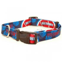 Detroit Pistons NBA Dog Collar