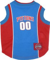 Detroit Pistons NBA Dog Jersey