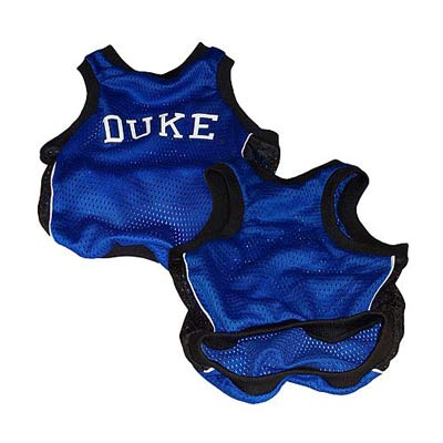 Duke Blue Devils Official Replica Dog Jersey