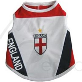 England National Soccer Dog Jersey