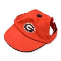 Georgia Bulldogs Dog Baseball Cap