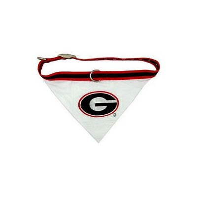 Georgia Bulldogs NCAA Dog Collar Bandana