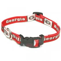 Georgia Bulldogs NCAA Dog Collar