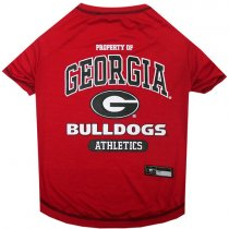 Georgia Bulldogs NCAA Dog Tee Shirt