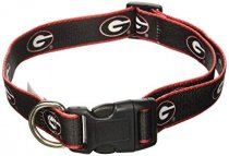 Georgia Bulldogs Woven Ribbon Collar