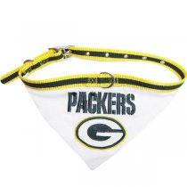 Green Bay Packers NFL Dog Collar Bandana