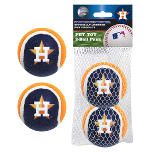 Houston Astros Tennis Balls