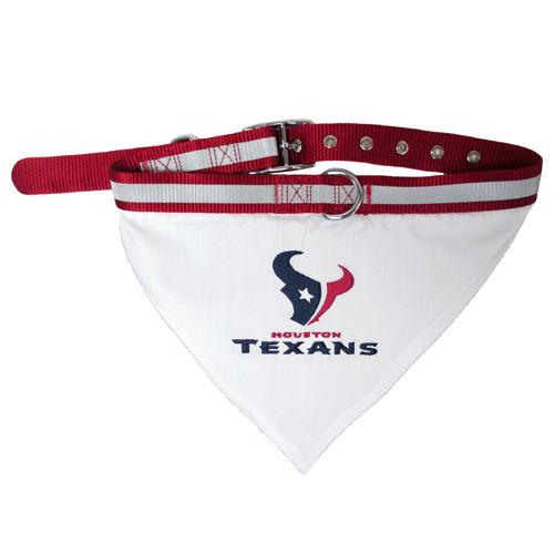 Houston Texans NFL Dog Collar Bandana