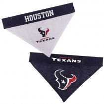 Houston Texans NFL Reversible Dog Bandana