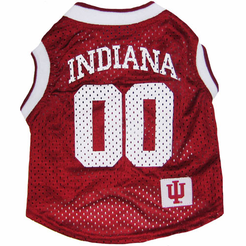 Indiana Hoosiers NCAA Dog Jersey