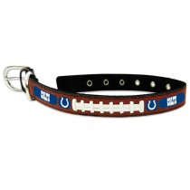 Indianapolis Colts Classic Leather Collar