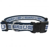 Indianapolis Colts Woven Dog Collar