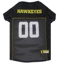 Iowa Hawkeyes NCAA Dog Jersey