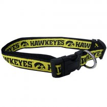 Iowa Hawkeyes Woven Dog Collar