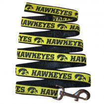 Iowa Hawkeyes Woven Dog Leash