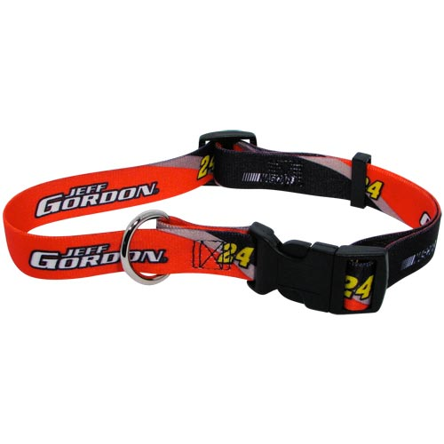 Jeff Gordon NASCAR Dog Collar
