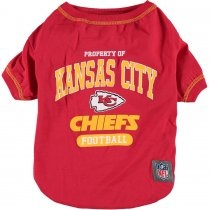 Kansas City Chiefs NFL Dog Tee Shirt