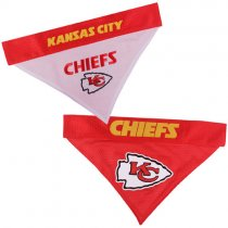 Kansas City Chiefs NFL Reversible Dog Bandana