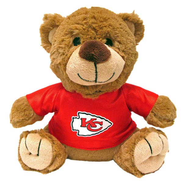 Kansas City Chiefs NFL Teddy Bear Toy