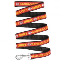 Kansas City Chiefs Woven Dog Leash