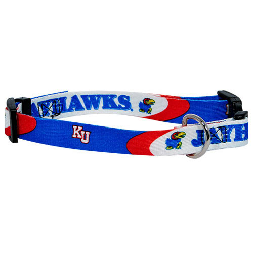 Kansas Jayhawks NCAA Dog Collar