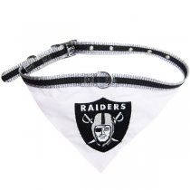 Las Vegas Raiders NFL Dog Collar Bandana