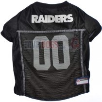 Las Vegas Raiders NFL Dog Jersey