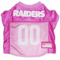 Las Vegas Raiders PINK Dog Jersey