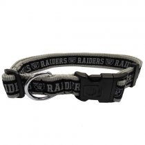 Las Vegas Raiders Woven Dog Collar